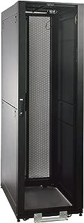 Tripp Lite 42U Value Series Standard-Depth Rack Enclosure Cabinet, 2400-lb. capacity with doors & side panels, Black (SR2400)