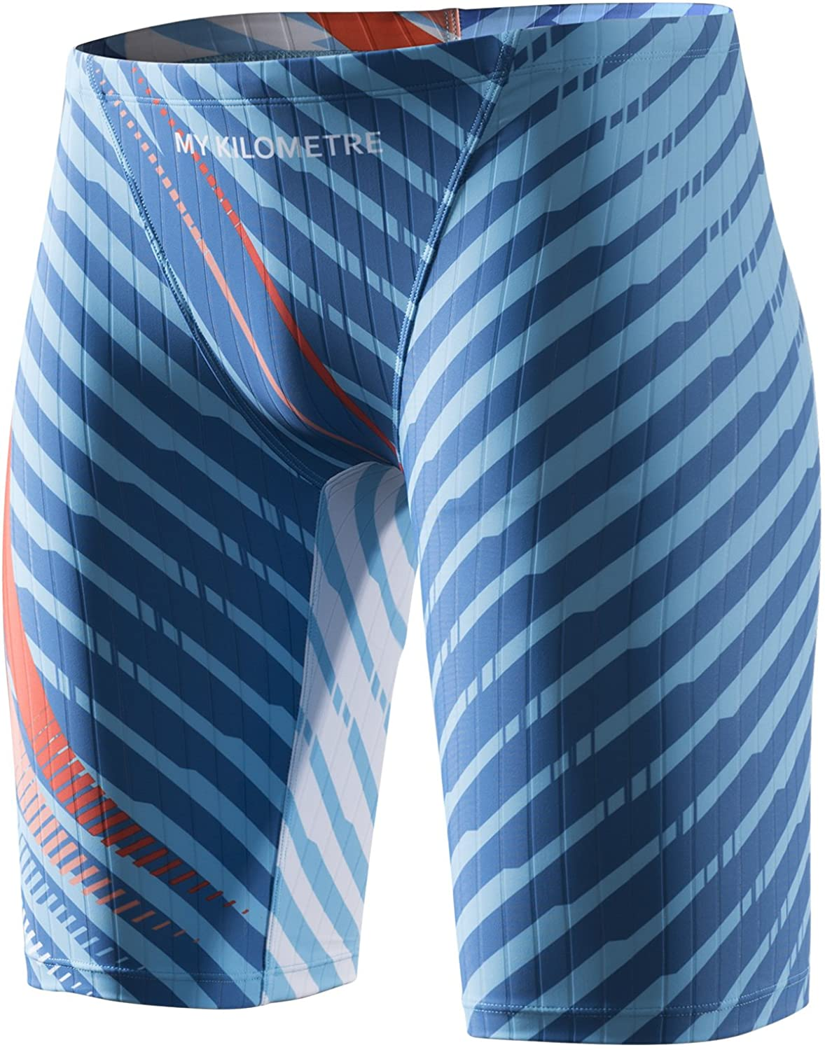 MY KILOMETRE Jammer Swimsuit Mens Jammers Swim Endurance Sale special price L Gorgeous Solid