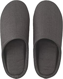 Linen Twill Cushion Slippers Room Shoes Unisex Japan