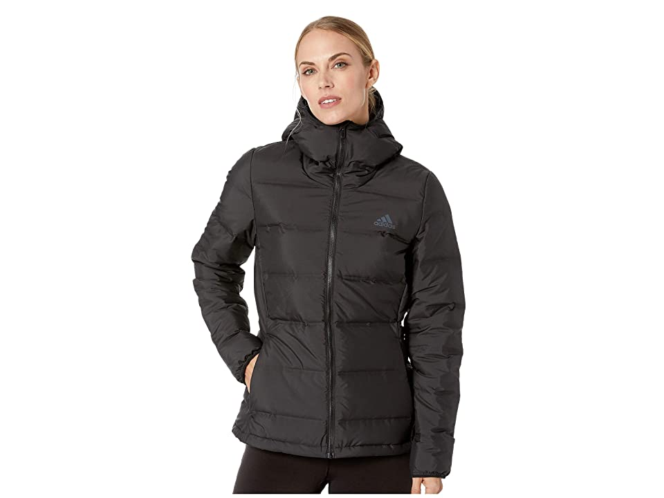 adidas Outdoor Helionic Hooded Jacket (Black) Women