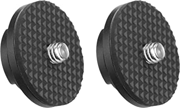 Movo MB1000CH Replacement Camera Hubs, Mounts for the MB1000, MB700 and MB200 Camera Carrying Vest (2 Pack)