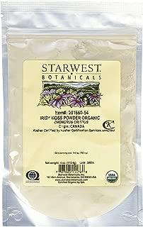 irish moss powder benefits