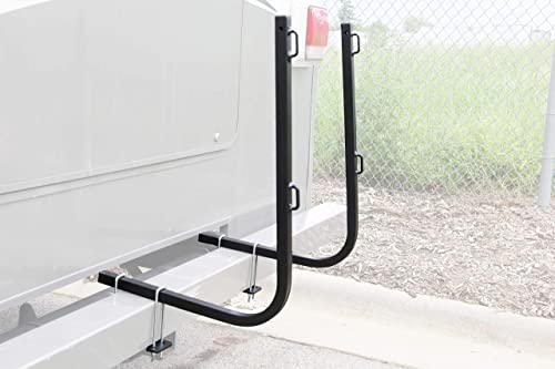 Camco Rhino Bumper Mount RV Tote Tank Carrier - Mounts Directly onto Your RV Bumper to Secure Your Rhino Tote Tank in...