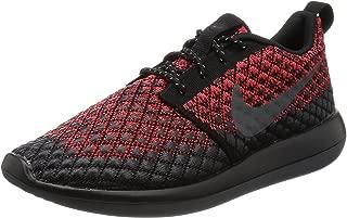 Nike Mens Roshe Two Flyknit 365 Bright Crimson/Dark Grey/Black Running Shoe 9 Men US