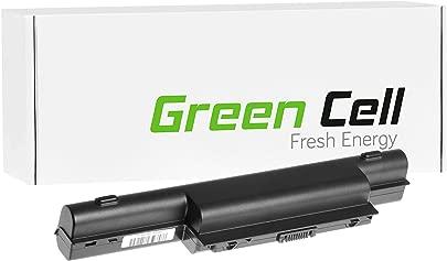 Green Cell  Extended Serie Laptop Akku AS10D31 AS10D3E AS10D41 AS10D51 AS10D61 AS10D71 AS10D73 AS10D75 AS10D81 f r Acer eMachines Packard Bell  12 Zellen 8800mAh 11 1V Schwarz