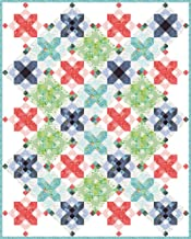 One Canoe Two Hazelwood Snowflakes Quilt Kit Moda Fabrics KIT36010