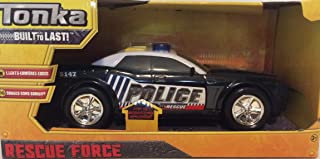 Tonka Rescue Force Lights and Sounds Police Car