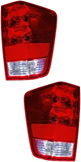 2007 nissan titan tail lights