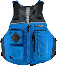 Astral Ronny Life Jacket PFD for Recreation, Fishing, and Touring Kayaking, Deep Water Blue, Medium/Large