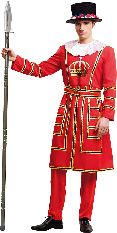 Desconocido My Other Me-203363 Disfraz Beefeater para hombre, M-L (Viving Costumes 203363)