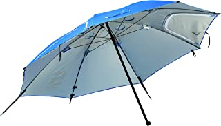 Franklin Sports Sideline 8' Sunblocker – Sports Bench Shade Umbrella – Multi-Use – Ideal for Team Sideline Shade with UV and Rain Protection – Franklin QuikSet Shelter