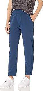 Core 10 Amazon Brand Women's Woven City Slim Pant