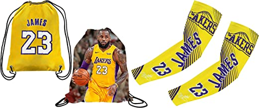 XIAOHAI Sports Basketball Jersey Lakers #4 Caruso Breathable Wear Resistant Embroidered Mesh Basketball Swingman Jerseys Sports T-Shirt Jerseys,A,S 165~170CM//50~65KG
