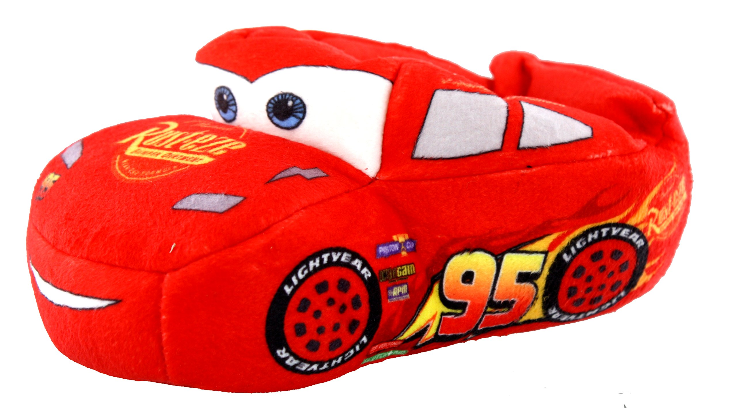 Image of Lightning McQueen Disney Cars Slippers for Boys and Toddlers
