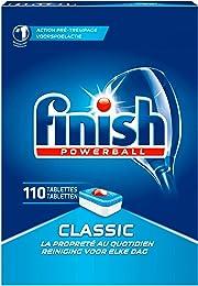 Finish Classic Paquet de 110 tablettes pour lave-v
