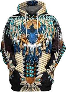 Doxi Men Swag Sweatshirts Hoodies Trippy Art Paint Skull Coats Long Sleeve Hooded
