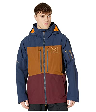 Burton [ak] 2L Swash Jacket (Dress Blue/Monks Robe/Port Royal) Men