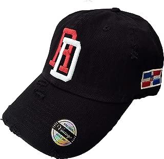 Adjustable Vintage Cap Dominican Republic RD and Shield