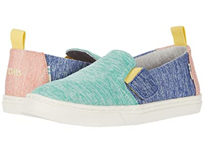 TOMS Kids Luca (Toddler/Little Kid) (Mint Multi Repreve Melange Knit) Kid