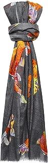 Simone Bruns Women's Koi Cashmere Scarf Grey