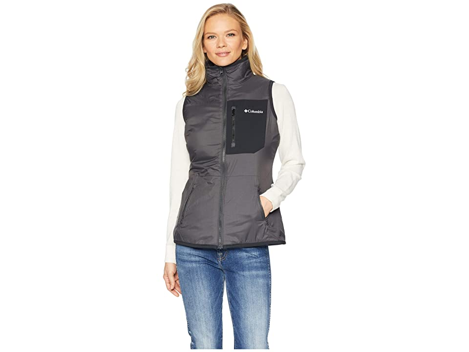 Columbia Bryce Canyontm Reversible Vest (Skark/Black/Shark Sherpa) Women