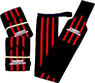 Inzer Iron Wrist Wrap Z (Pair) - Powerlifting, Weightlifting, Crossfit