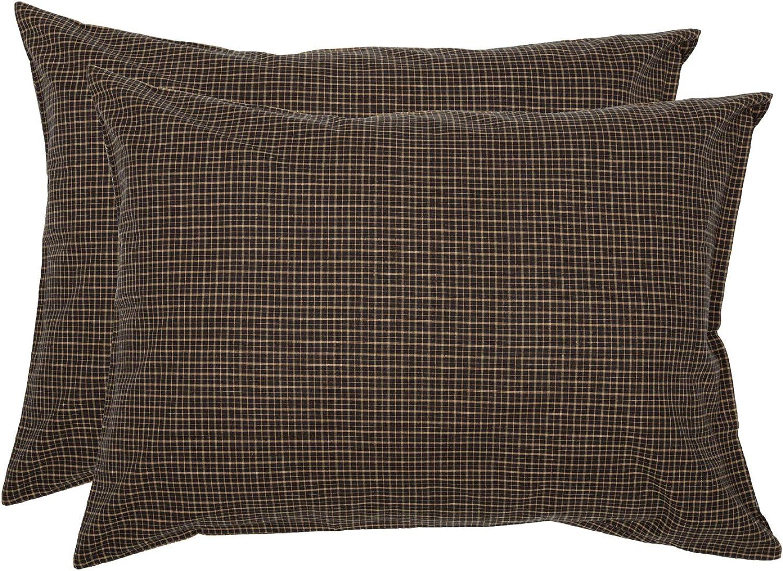 VHC Brands 7163 Kettle Grove Pillow Case, set of 2, 21  x 30