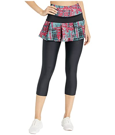 Skirt Sports Lioness Capris Skirt (Rad Plaid Print/Black) Women