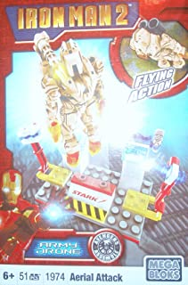 Mega Bloks Ironman 2 Aerial Attack Drone