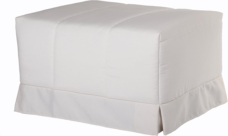 Quality Mobles - Cama Plegable Individual de 80x190 cm Funda Color Natural