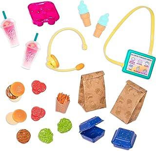 Glitter Girls Dolls by Battat – GG Drive-Thru Food Set – Can We Take Your Order? – Play Food & Pretend Restaurant Playset ...