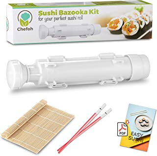 Sushi All-In-One Sushi Bazooka, Sushi Matte & Bambus