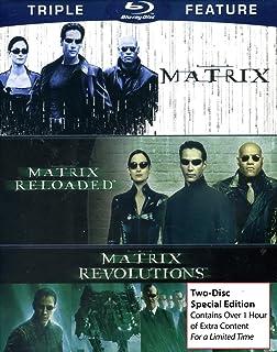 La matriz triple característica (la matriz / la matriz descargada / la revolución de la matriz ) [Blu-ray]