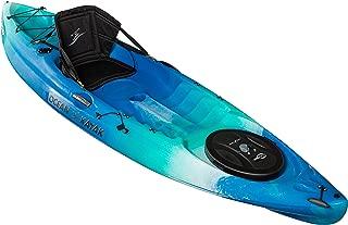 Ocean Kayak Caper Angler One-Person Sit-On-Top Fishing Kayak, Seaglass, 11 Feet