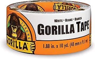 Gorilla Tape, White Duct Tape, 1.88