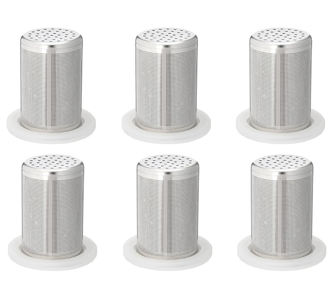 政治促進するおとこタンブラー型浄水器 「シリカピュア」専用交換カートリッジ 6個セット