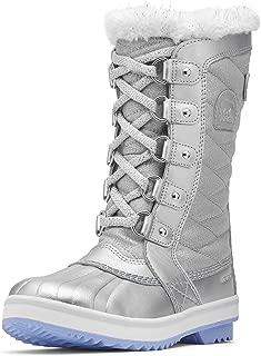 Disney Frozen 2 Kids' Tofino Winter Snow Boot, Pure Silver/White