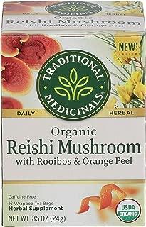 Traditional Medicinals, Organic Reishi Mushroom Tea, 16 Count