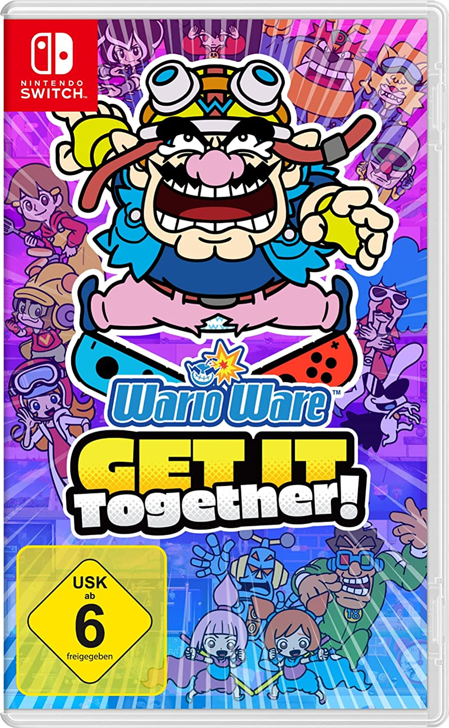 Wario Ware – Get it together! Cover