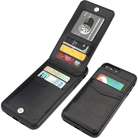 Amazon.com: iPhone 7 Plus iPhone 8 Plus Wallet Case with Card ...