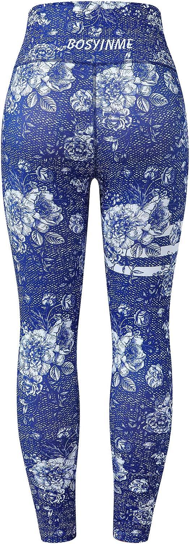 Yoga Sporting Goods BOSYINME Womens Yoga Leggings Printed Leggings ...