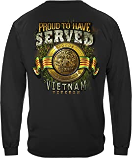 Erazor Bits Vietnam Proud to Have Served Long Sleeve T Shirt MM2343LS