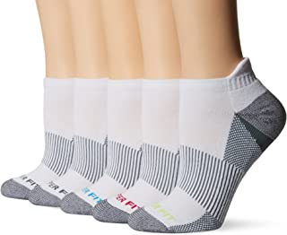 Copper Fit womens - 5pk Length Socks With Ankle Guard Socks