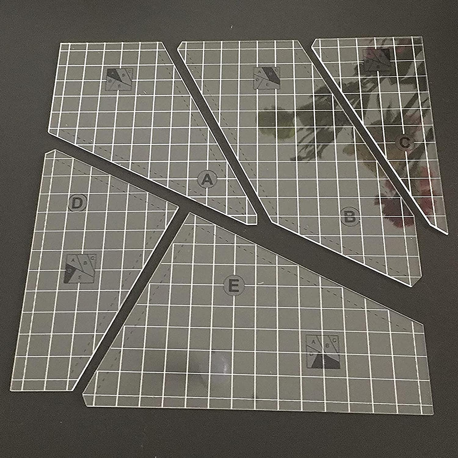 Creative Translated Quilting Japan's largest assortment Cutting Template and - rulers templat