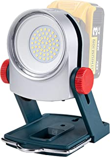 Sponsored Ad – Cordless LED Work Light for Makita 18V Battery,Also Works for Dewalt 20V 20W 1800LM Portable Outdoor Flood ...