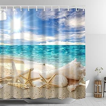 Plage rideau de douche préservé Oceanic Resort