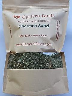 Eastern Foods Ghormeh Sabzi Mixed Herbs, 7 oz -Ingredients: Parsley, Leek and Fenugreek