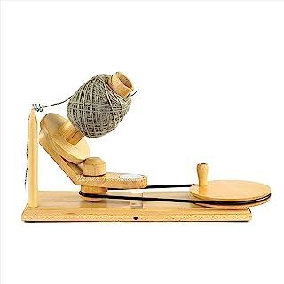 Hand Operated Premium Crafted Knitting & Crochet Ball Winder | Knitter's Gifts Center Pull Ball Winder | Nagina International