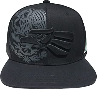 Leader of Generation Hecho En Mexico Mexican Flag States Eagle Flatbill Snapback Hat