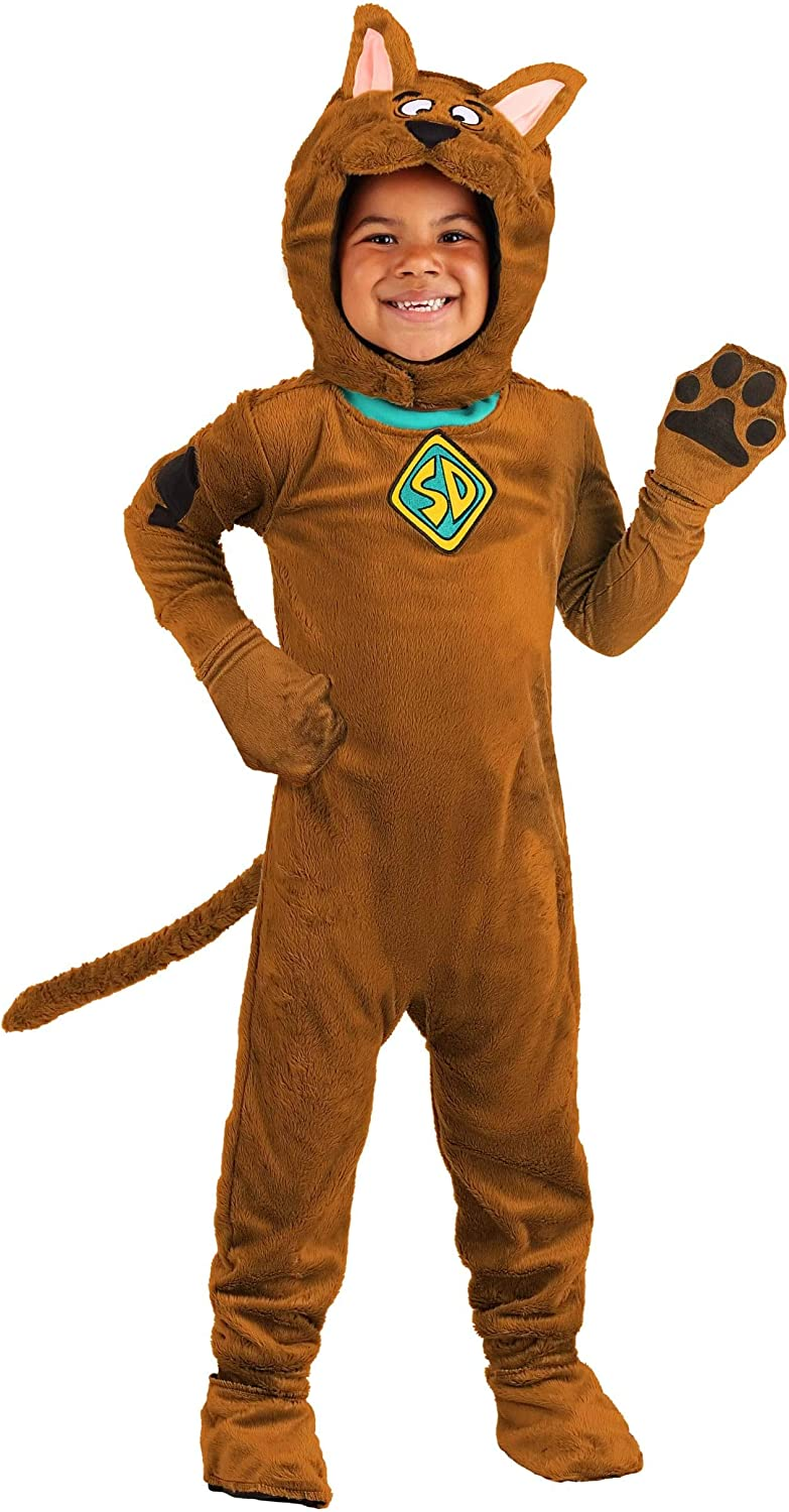 Deluxe Don't miss the campaign Toddler Scooby Doo Hood with free shipping Jumpsuit Costume